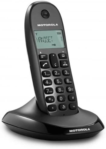 Motorola C1001 Lite - Teléfono Inalámbrico, Color Negro: Amazon.es: Electrónica