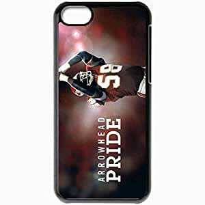 Personalized iPhone 5C Cell phone Case/Cover Skin 877 kansas chiefs 0 Black by mcsharks