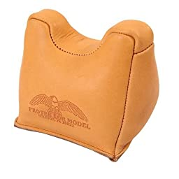 Protektor Model #7F Front Leather Shooting Bag - MADE IN USA!