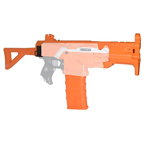 Worker Mod F10555 3D Printing No.114 MP Style Module K Combo 7 Items for Nerf Stryfe Modify Toy Color Orange by F10555