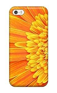 New Premium Flip Case Cover Fresh Marigold Skin Case For Iphone 5/5s