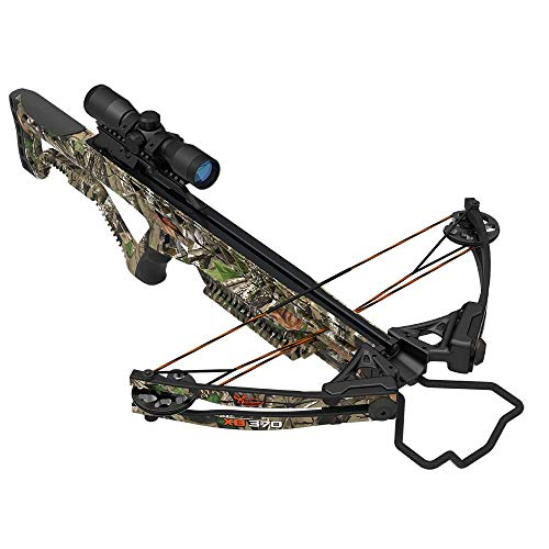 Wildgame Innovations XB370 Compound Crossbow, Shoots 370 Feet Per Second, Includes Quiver, 2-20