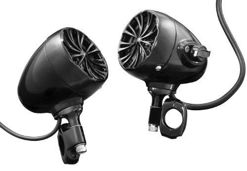 Kuryakyn 832 Black The Sound of Chrome 2nd Generation Speaker