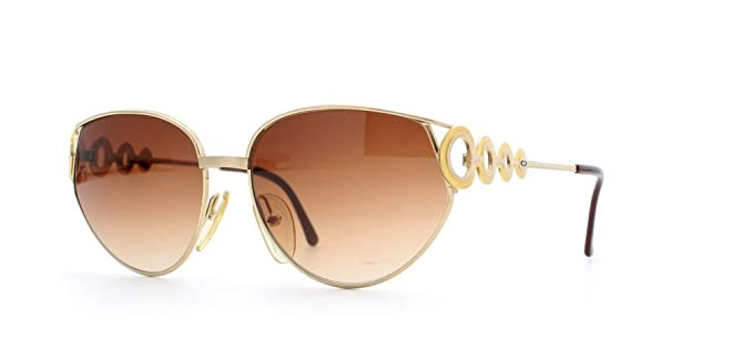Amazon.com: Christian Dior 2750 Certificado 44 Gold. clásico ...