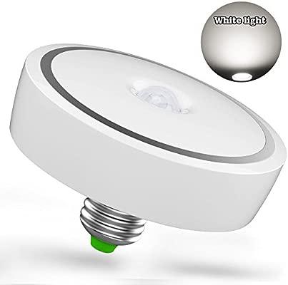 Lámpara de techo LED E27 de 12 W con interruptor automático ...