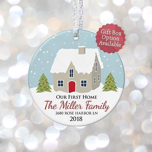 Our First Home Christmas Ornament.Amazon Com Our First Home Christmas Ornament Personalized
