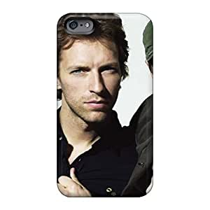 Bumper Hard Phone Cases For Iphone 6 With Allow Personal Design High Resolution Coldplay Band Pictures JonBradica