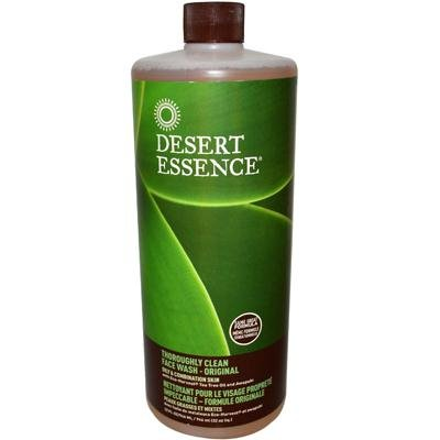 Clean Face Wash 32 oz. (Pack of 2) (Desert Essence Face Wash)