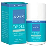 Best Eye Gel Cream For Wrinkles Fine Lines Dark Circles - Avashine Natural Eye Gel for Dark Circles, Puffiness Review