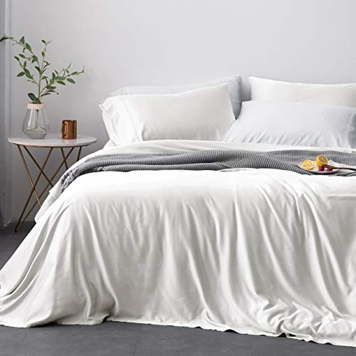 - Oasis Fine Linens Island Bamboo Collection (Queen, White Sand)