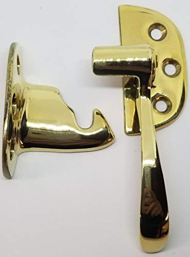 Solid Brass Icebox Right hand latch (for 3/8