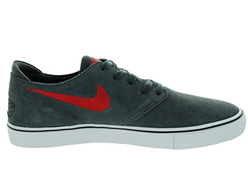 Nike Mens Oneshot Sb Skate Scarpe Anthracite / Gym Rosso / Nero / Bianco