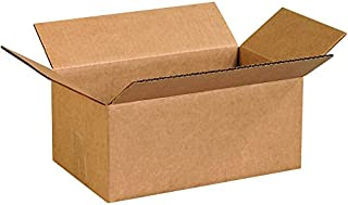 """product image for Partners Brand P1275 Corrugated Boxes, 12""""L x 7""""W x 5""""H, Kraft (Pack of 25)"""