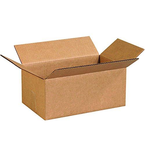 Partners Brand P1275100PK Corrugated Boxes, 12