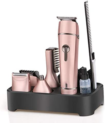 SYQS Afeitadora eléctrica 5 en 1, maquinilla de Afeitar ...