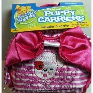 Zhu Zhu Puppies Stylin Puppy Carrier Pink Stripes