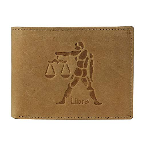 MENS LEATHER WALLETS (TAN LIBRA)