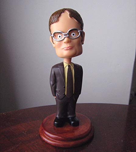 Cleaky Dwight Schrute Bobblehead for Dunder Mifflin The Office Merchandise Replica