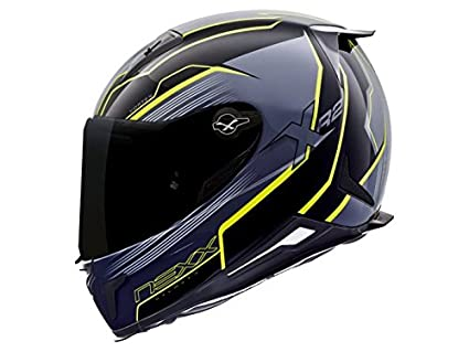 Nexx XR2 vortex Full Face Helmet (XX-Large, Neon Yellow)