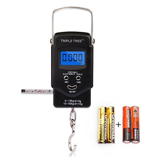 Triple Tree Electronic Retractable Measuring