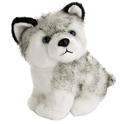 Iulove 7inch Lovely Plush Dog Siberian Husky Soft Stuffed Animal Puppy Toy Dolls