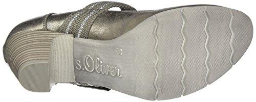 24404 Metal s Pewter Oliver Pumps Damen Silber 06nEHT6