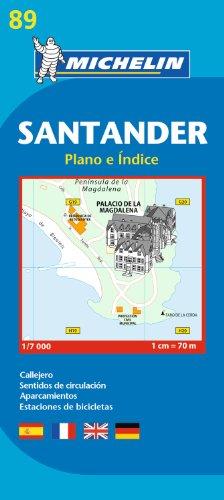 Santander   Michelin City Plan 89  City Plans  Michelin City Plans