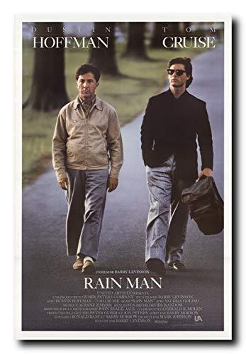 Rainman Poster - Mile High Media Rainman Movie Poster 24x36 Inch Wall Art Portrait Print - Tom Cruise - Dustin Hoffman