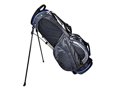 Club Champ Deluxe Stand Golf Bag Black/Blue