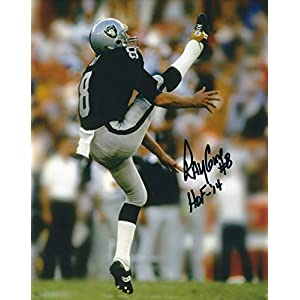 Autographed Ray Guy 8×10 Oakland Raiders Photo