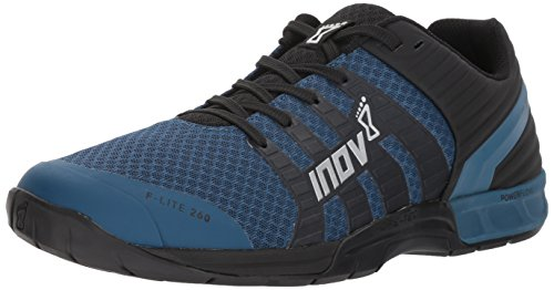 8 US Black M Inov Black 260 Lite D F Blue Cross Blue Trainer Men's 10 Snw7x6d