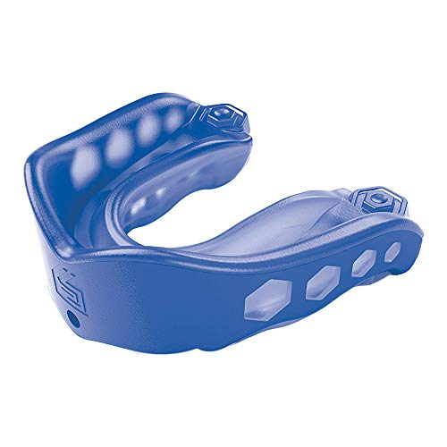 Shock Doctor Gel Max Mouth Guard, Sports Mouthguard for Football, Lacrosse, Hockey, Basketball, Flavored mouth guard, Youth & Adult