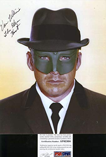 VAN WILLIAMS Green Hornet PSA DNA Cert Hand Signed 8x10 Photo Autograph