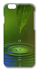 ACESR Awesome iPhone 6 Cases, Water Leaf PC Hard Case Cover for Apple iPhone 6 (4.7 INCH) - 3D Design iPhone 6 Case