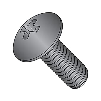 Meets ASME B18.6.3 1-1//2 Length Black Oxide Finish #8-32 Thread Size Pack of 100 Fully Threaded #2 Phillips Drive Steel Pan Head Machine Screw Import