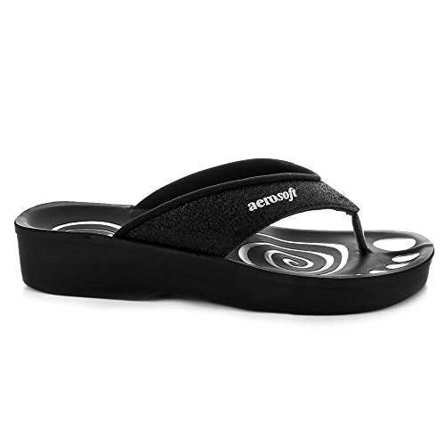 Aerosoft-Glitter-Orthotic-Soft-Open-Toe-Comfortable-flip-Flop-Sandals