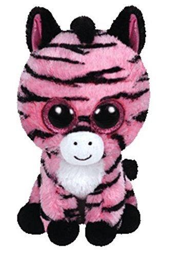 Ty Beanie Boos Plush - Zoey the Zebra 15cm (Zebra Beanie Baby)