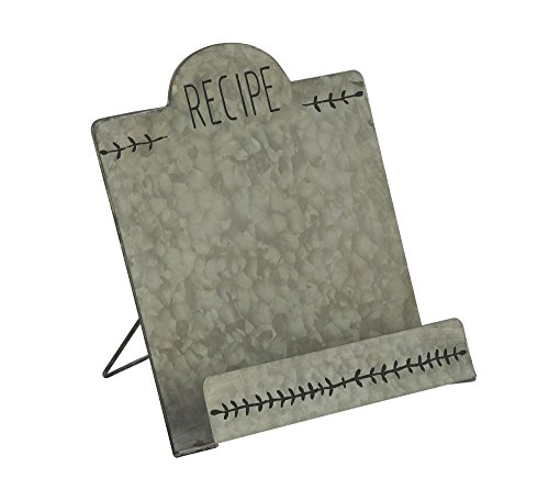 Vintage Style Metal Recipe & Cookbook Stand Holder by Red Co.