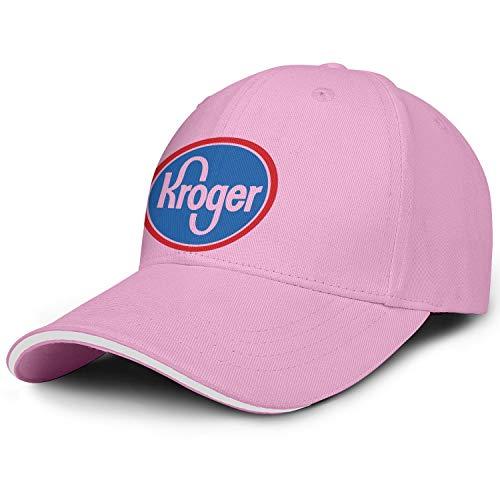 Unisex Man's Baseball Hat Classic Adjustable Flat Brim Meaning-Kroger-Logo-Symbol-Flat Cap