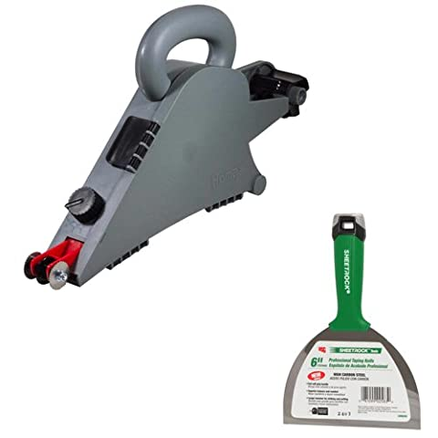 Homax 6500 Drywall Taping Tool Banjo PLUS Professional Series Joint Knife to Cut and Smooth Tape (Drywall Tool Taping)