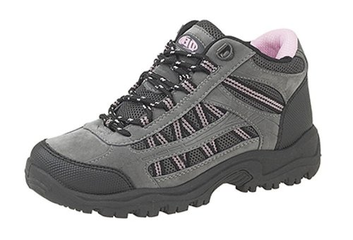 Walk Trek Dek Trail Pink Womens Boots Grey Ladies 36 Black New Hiking wBx6f0qUf