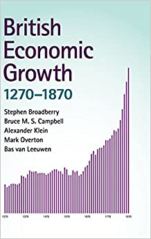 Book British Economic Growth, 1270-1870