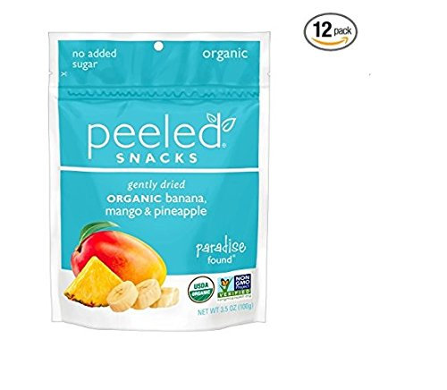 Peeled Snacks Paradise Found, 3.5 oz, Pack of 12