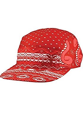 Nike Unisex KOBE IX 9 Christmas 5 Panel Basketball Hat Cap-Red-Adjustable