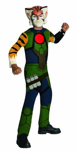 Thundercats Halloween Costumes (ThunderCats Animated Tygra Value Child Costume -)