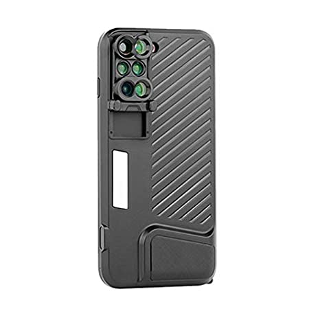 check out 56592 0444b Amazon.com: TOOGOO 6 in 1 Phone Lens Cover Dual Camera Lens Phone ...