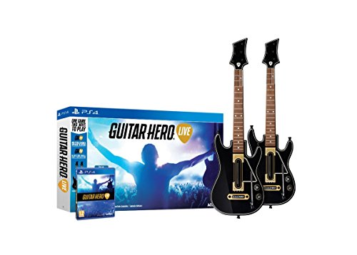 Guitar Hero Live 2-Pack Bundle - PlayStation - 4 Playstation Hero Guitar For