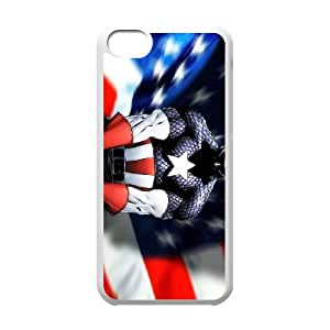 iPhone 5c Cell Phone Case White Captain America kik