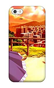 Awesome Design Anime Girls High Resolution Hard Case Cover For Iphone 5/5s