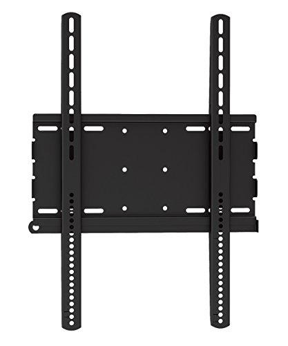 Fixed TV Wall Mount Bracket(05427A) with Anti-Theft Protection for 37-70 inch LED/LCD TV Flat Panel Monitor,VESA up to 600x400,Cold-Rolled Steel,Max Load Capacity up to 154lbs.Power by ProHT 37' Medium Flat Panel Mount